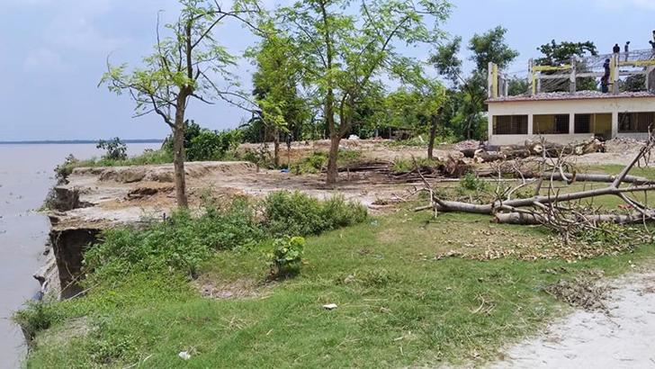 পদ্মার গর্ভে বাঘার ৫ শিক্ষাপ্রতিষ্ঠান