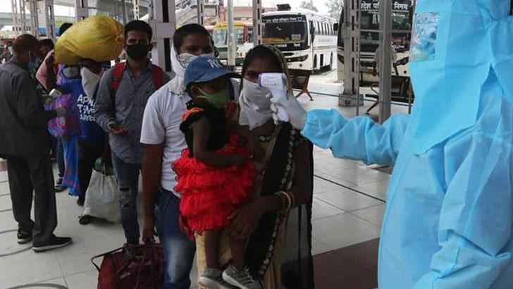 ভারতে ২৪ ঘণ্টায় ২৫ হাজার রোগী শনাক্ত