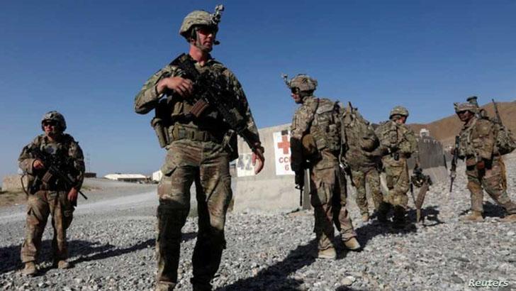 আফগানিস্তানের ৫ ঘাঁটি থেকে সরিয়ে নেয়া হয়েছে মার্কিন সেনা