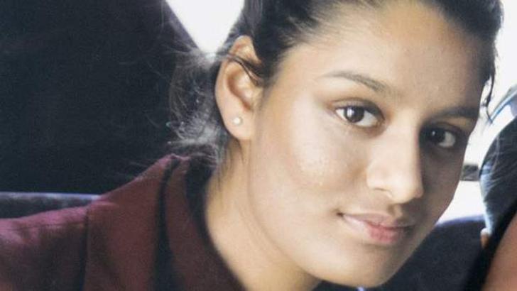 ২০১৫ সালে ১৫ বছর বয়সী শামিমা।