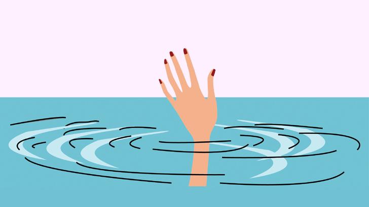 বানের পানিতে ডুবে যমজ বোনের মৃত্যু