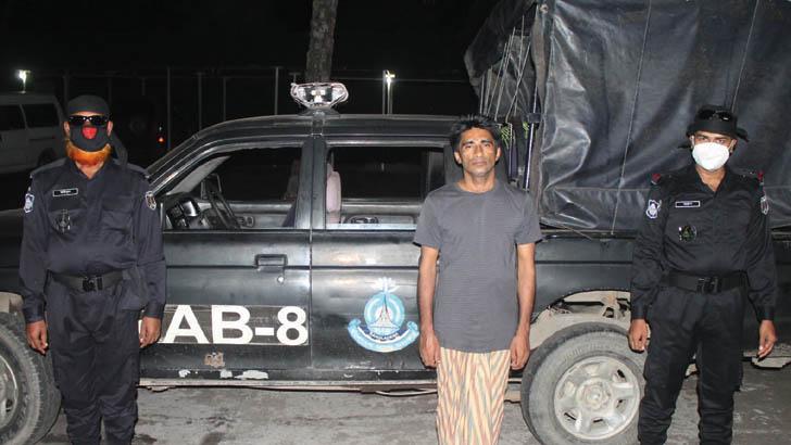 মাদারীপুরে র্যাবের অভিযানে 'মাদককারবারি' আটক