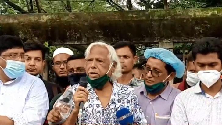 ভারতের বিরুদ্ধে সোচ্চার না হলে বাংলাদেশের মুক্তি নেই: ডা. জাফরুল্লাহ