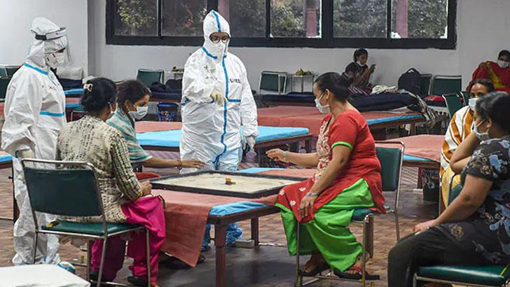 ভারতে ২৪ ঘণ্টায় ৬৪ হাজারের বেশি করোনা শনাক্ত