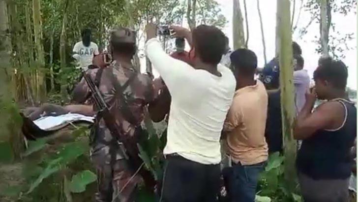 বিএসএফের গুলিতে বাংলাদেশি নিহত, ৩ দিন পর লাশ উত্তোলন