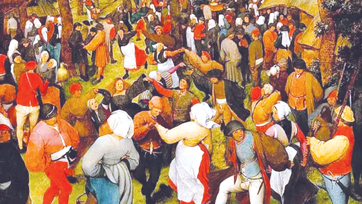 নাচতে নাচতে মৃত্যু ৪০০ লোকের