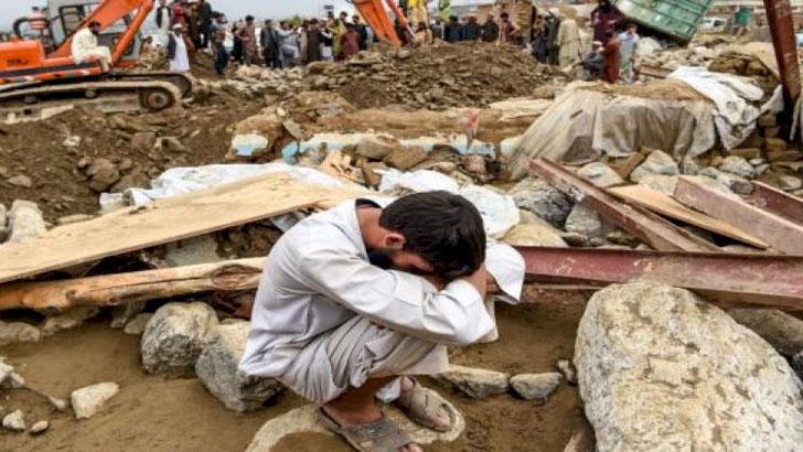 আফগানিস্তানে ভয়াবহ বন্যায় নিহত শতাধিক