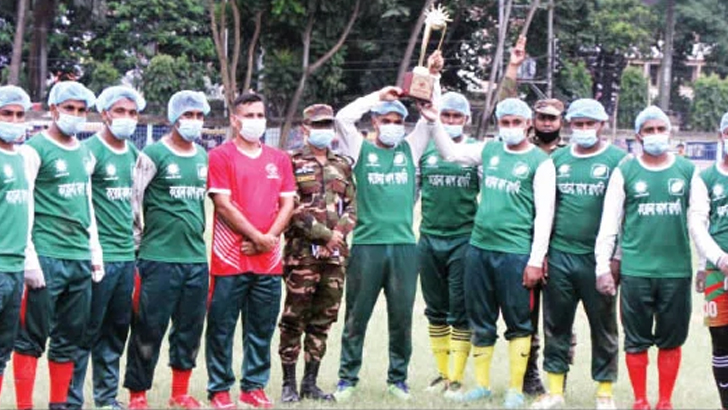 সেনাবাহিনী চ্যাম্পিয়ন