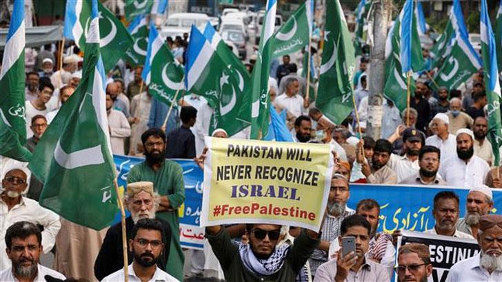 'সারা বিশ্ব ইসরাইলকে স্বীকৃতি দিলেও পাকিস্তান দেবে না'