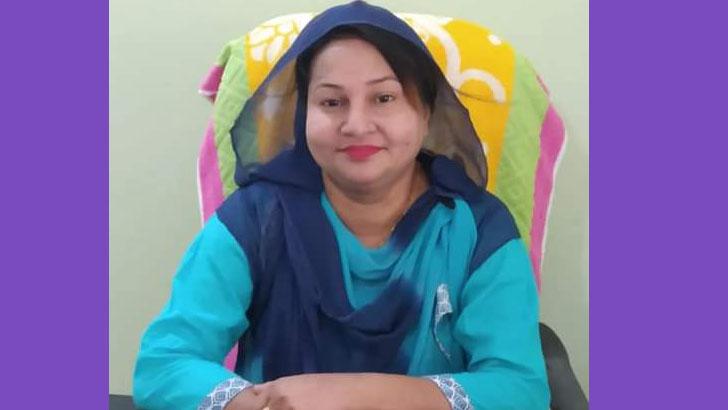 নাটোরে সড়ক দুর্ঘটনায় নারী ভাইস চেয়ারম্যান আহত