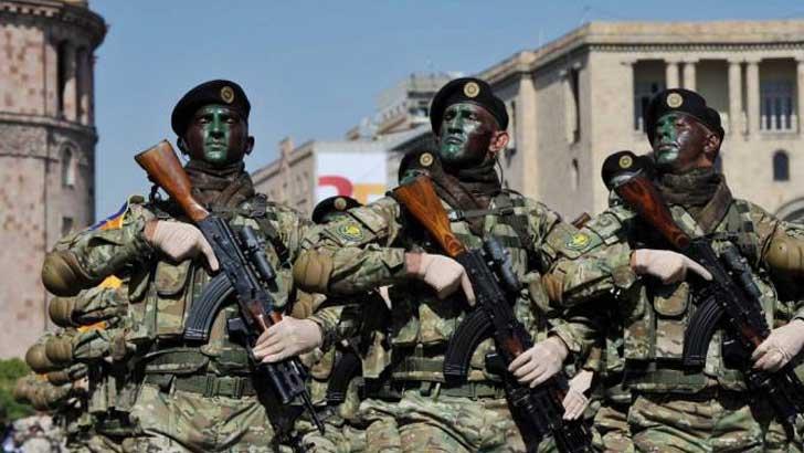 আর্মেনিয়াার সেনাবাহিনী