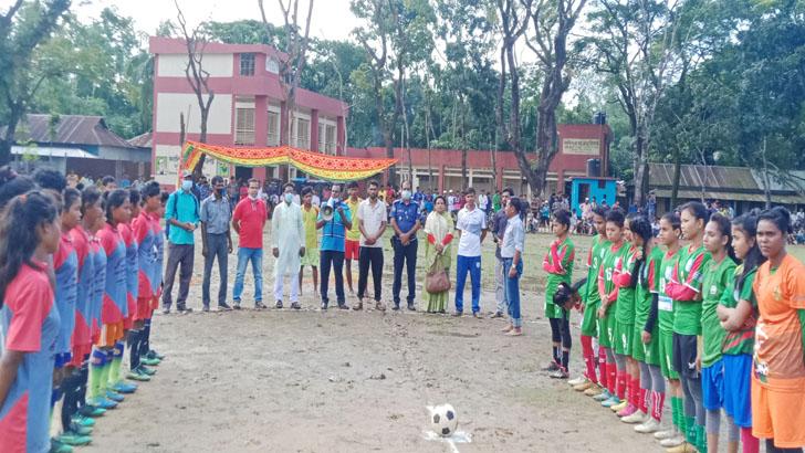 অবশেষে কলসিন্দুর জাতীয় নারী ফুটবলারদের প্রীতি ম্যাচ