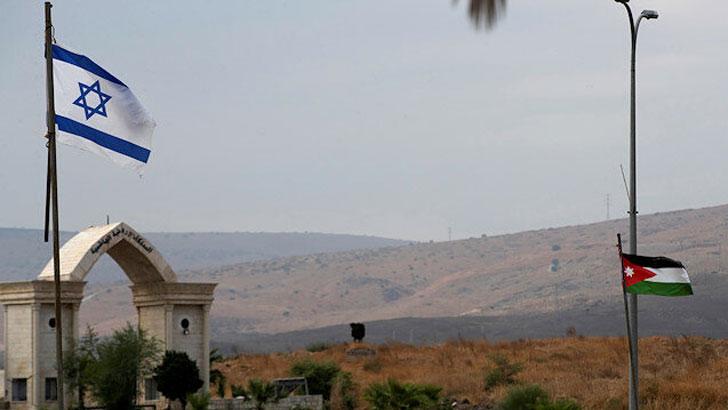 ইসরাইল-জর্ডান পতাকা