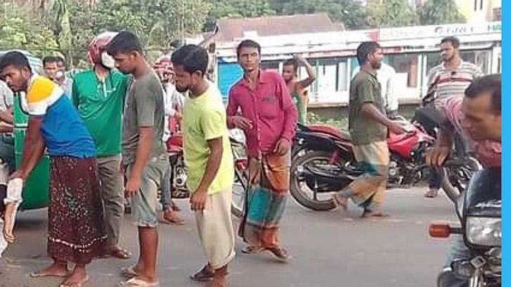 সুনামগঞ্জে লেগুনাচাপায় মোটরসাইকেল আরোহী নিহত