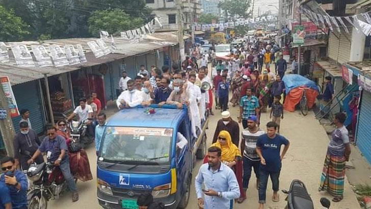 উন্নয়ন অব্যাহত রাখতে নৌকায় ভোট দিন: মনিরুল
