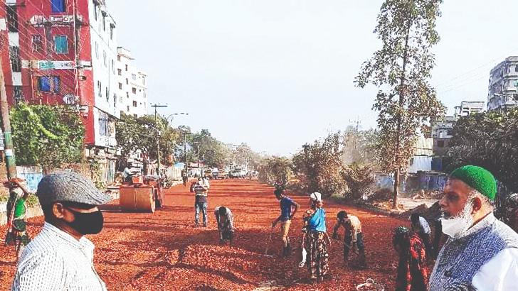 চট্টগ্রাম নগরীর অত্যন্ত গুরুত্বপূর্ণ পোর্ট কানেকটিং রোড