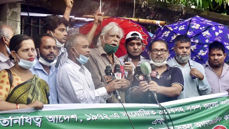 রাজনীতি করা আমার অধিকার, সেটা করতে দেয়া হচ্ছে না: জাফরুল্লাহ
