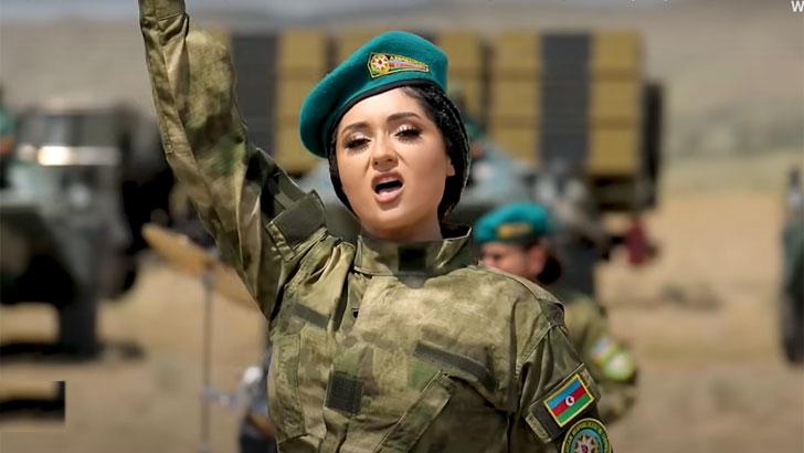 আজারবাইজান সেনাবাহিনীর 'মেটাল সংগীত' ভাইরাল