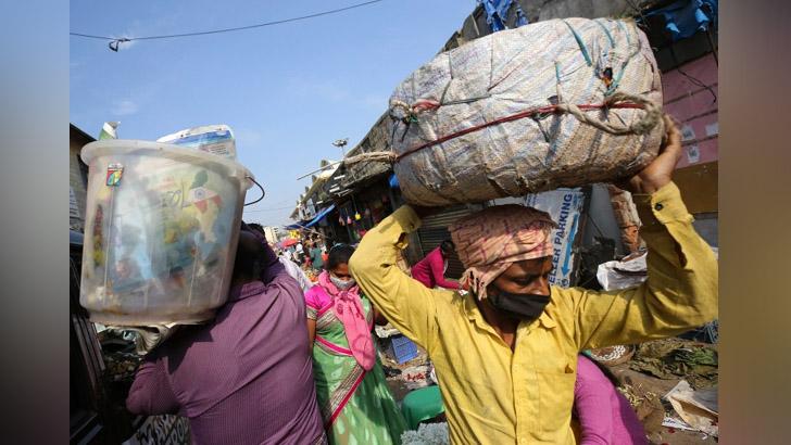 ভারতে করোনা আক্রান্তের সংখ্যা ৮০ লাখ ছাড়াল