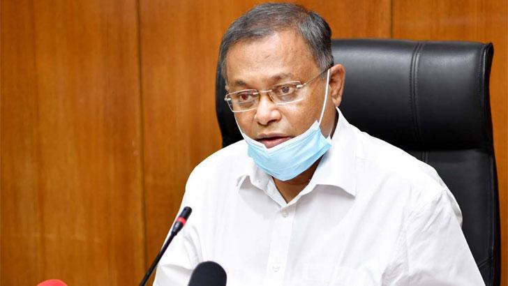 'দলকানা' বিএনপি প্রশংসা করতে পারে না: হাছান মাহমুদ