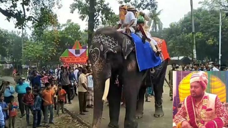 বিএনপি নেতার ছেলের 'বাদশাহি' বিয়ে!