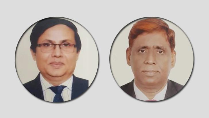 একেএম সাজেদুর রহমান খান এবং কাজী ছাইদুর রহমান