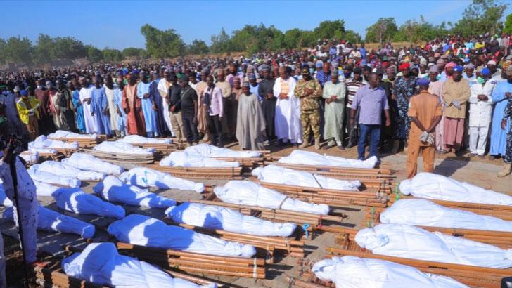 নাইজেরিয়ায় ধানক্ষেতে ১১০ কৃষককে হাত-পা বেঁধে 'জবাই'