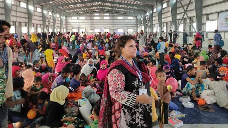 ভাসানচরে সরালেও রোহিঙ্গাদের মিয়ানমারেই ফিরতে হবে