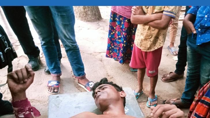 কাশিয়ানীতে যুবককে লোহার রড দিয়ে পিটিয়ে আহত