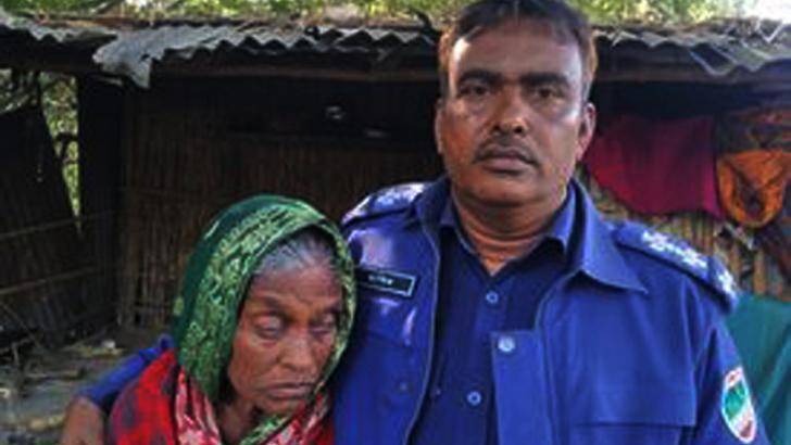 দৃষ্টি প্রতিবন্ধী নারীর সঙ্গে মেহেরপুর সদর থানার এসআই শরিফ ইকবাল