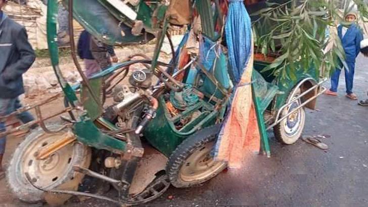 কক্সবাজারে বাসচাপায় অটোরিকশার ২ যাত্রী নিহত