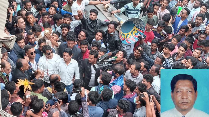 বিএনপি মেয়র প্রার্থী কামাল উদ্দিন চৌধুরীর গণসংযোগ