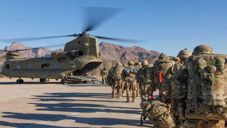 আফগানিস্তানে দুই দশকে যুক্তরাষ্ট্রের সবচেয়ে কম সেনা