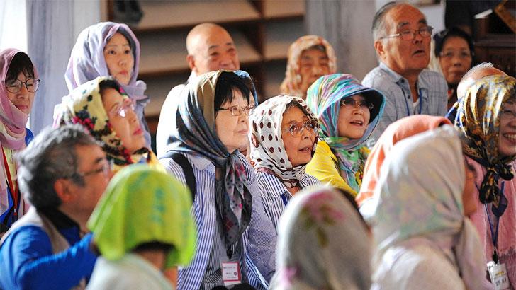 জাপানে মুসলিমদের একটি চিত্র