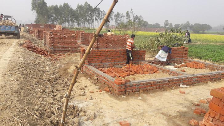 বাড়ি নির্মাণ