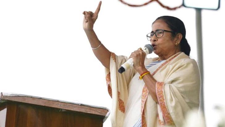 মমতা ব্যানার্জি। ফাইল ছবি