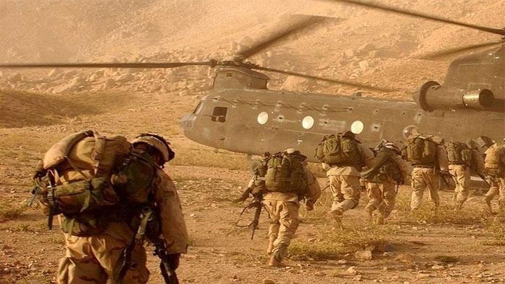 ইরাকে নজিরবিহীন হামলার মুখে মার্কিন সামরিক বাহিনী