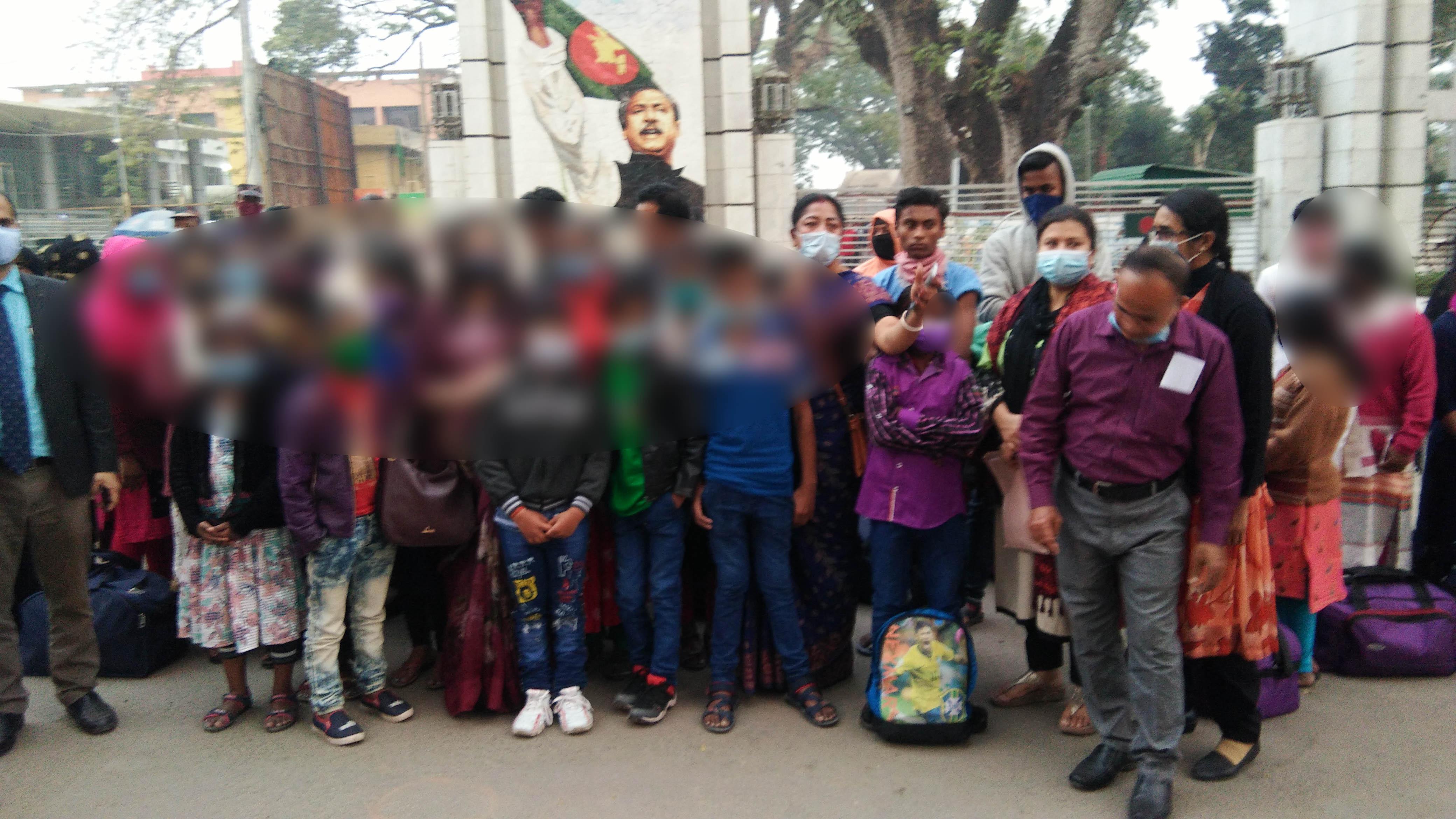 ভারতে কারাভোগ শেষে দেশে ফিরল ৩৮ কিশোর-কিশোরী