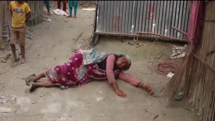 সুন্দরগঞ্জে ভ্যানচালকের বাড়ি দখল করল জামায়াত নেতা গফফার!