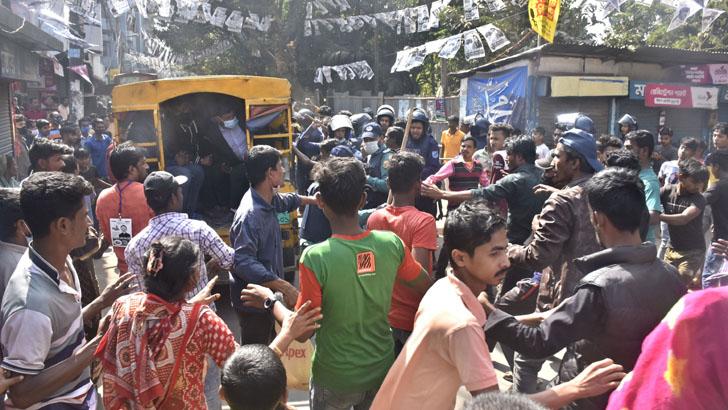 চট্টগ্রাম সিটি করপোরেশন নির্বাচনে সংঘর্ষ