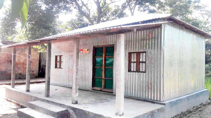 সরকারিভাবে বরাদ্দ হওয়া একটি ঘর