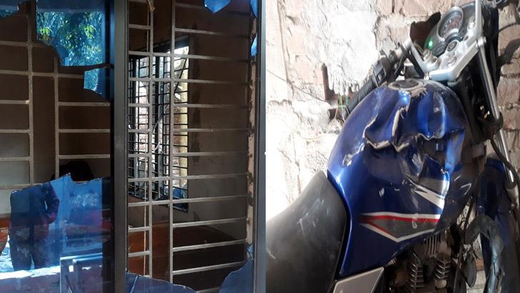 নির্বাচনে হেরে পরাজিত আরেক প্রার্থীর বাড়িতে হামলা