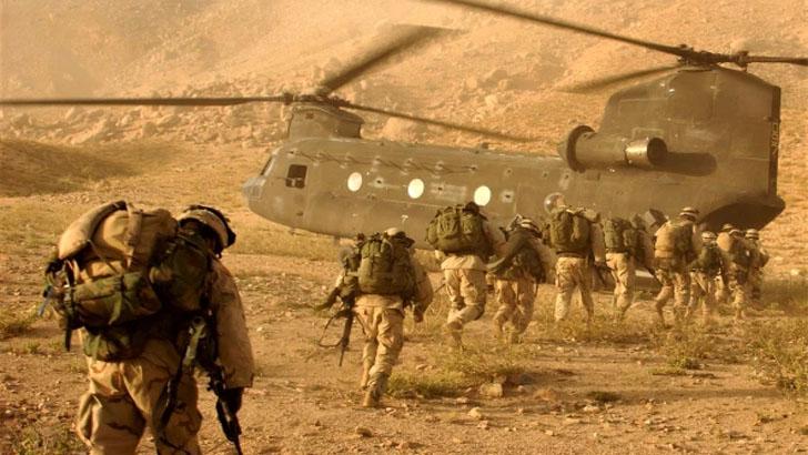 আফগানিস্তানে আইএস জঙ্গিদের পৃষ্ঠপোষকতা করছে যুক্তরাষ্ট্র