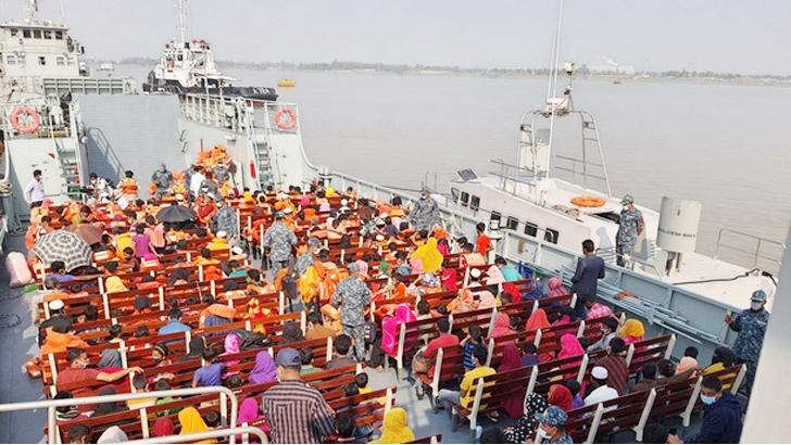 ভাসানচর রোহিঙ্গা