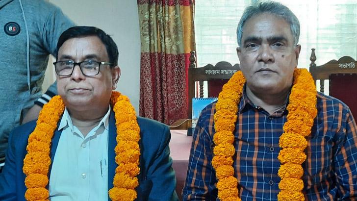 সিরাজগঞ্জ প্রেস ক্লাবের সভাপতি হেলাল সম্পাদক জাকিরুল