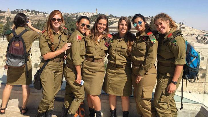 ইসরাইলের নারী সেনাবাহিনী