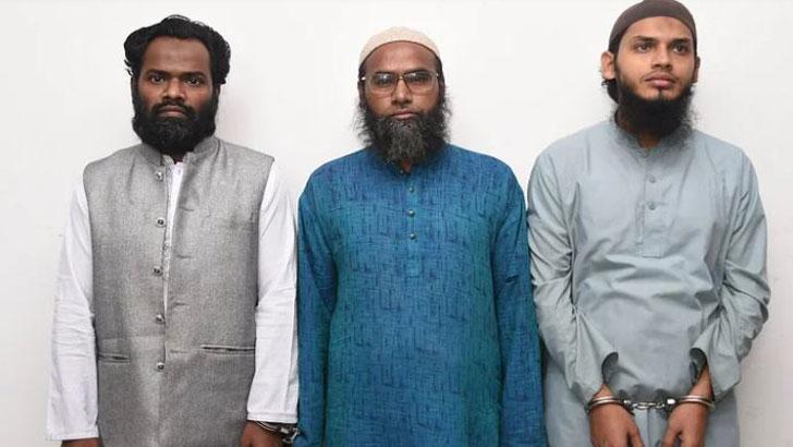 ঢাকায় বড় নাশকতার পরিকল্পনা, তিন হুজি নেতা গ্রেফতার