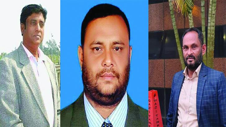 মিজানুর রহমান, জাবেদ কায়সার নোবেল ও রফিকুল ইসলাম