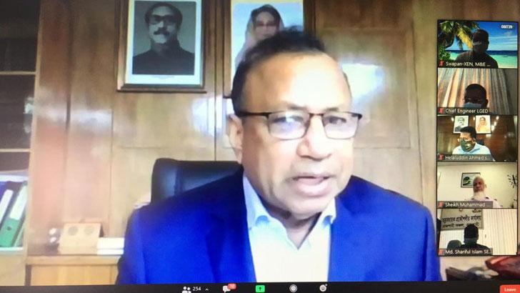 'করোনাকালীন এলজিইডির উন্নয়ন কর্মকান্ড অব্যাহত রাখার আহ্বান'