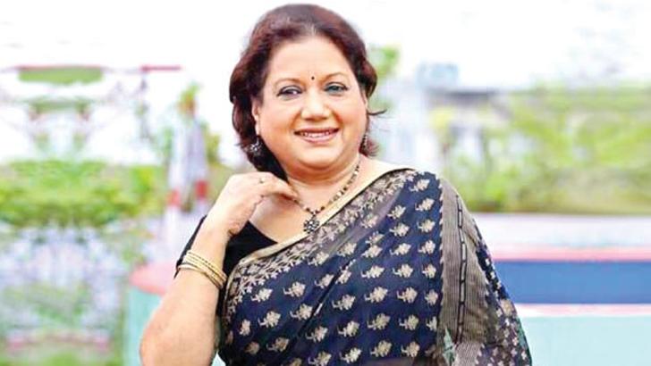 চিত্রনায়িকা সারাহ বেগম কবরী।  ফাইল ছবি
